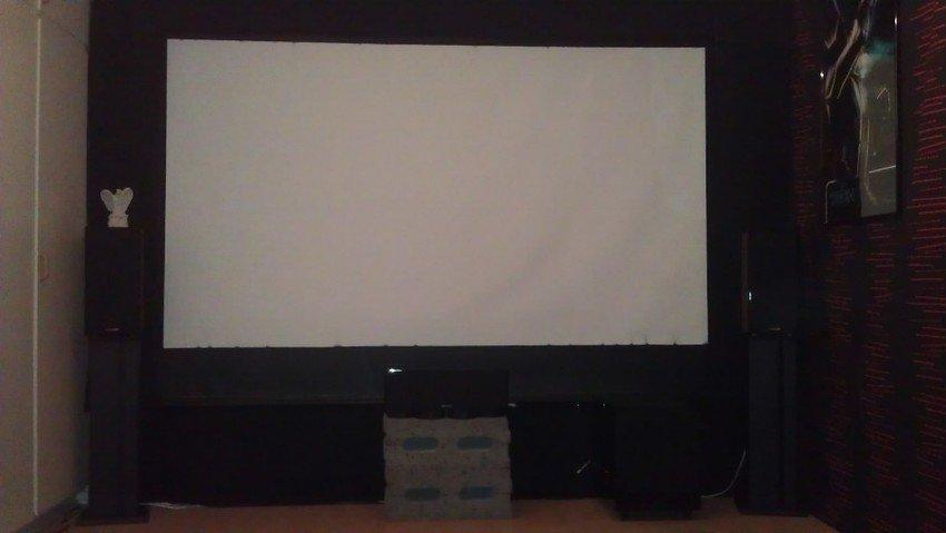 Från första början av bio rummet