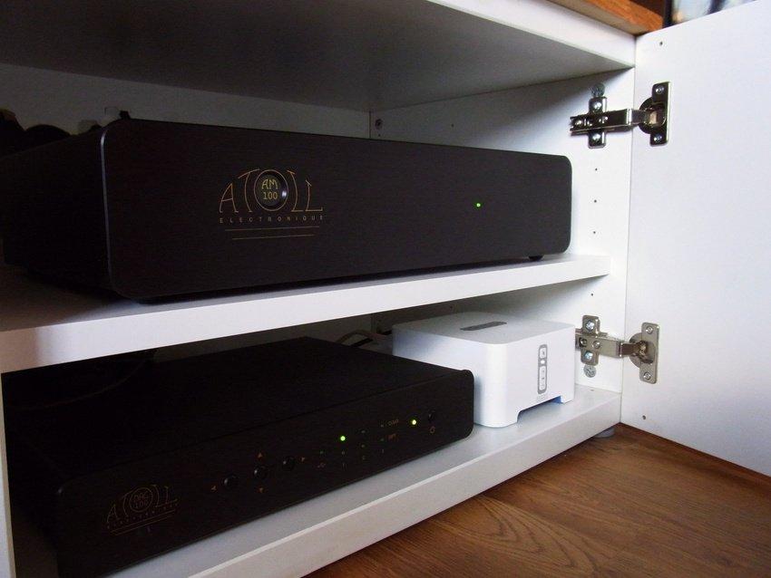 Atoll AM100, DAC100 och Sonos