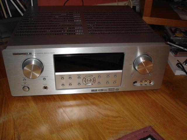 Marantz SR-5500 som ska driva högtalarna