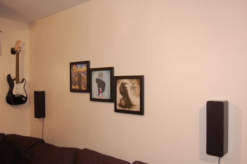 vinyl uppåt väggarna