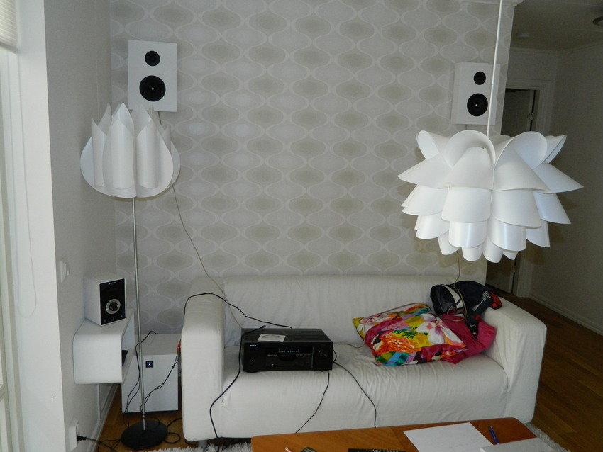 Provar högtalarplacering