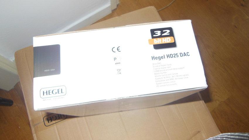 Hegel HD25 närmare.