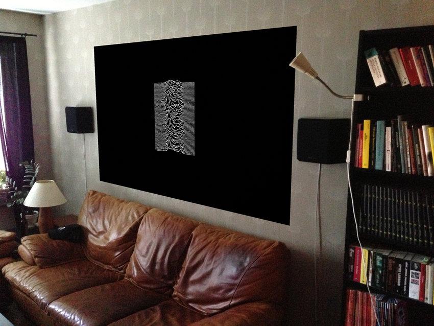 Kommande projekt till bakväggen - printad ljudabsorbent