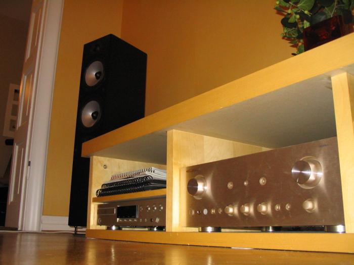 så här ser stereon ut för dammkornen på golvet