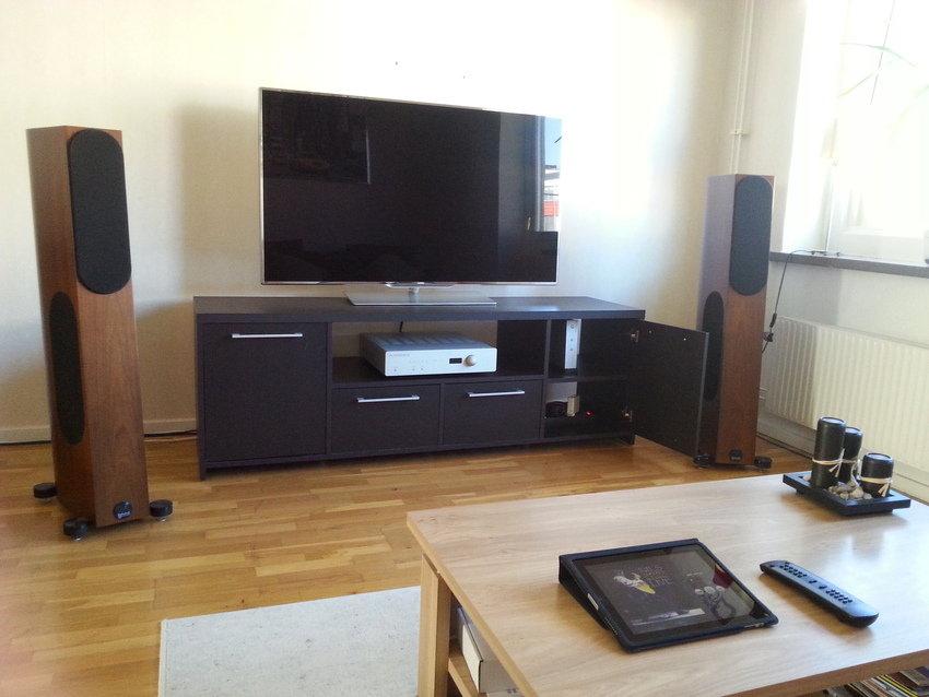 Bladelius Tyr/Audio Physic Scorpio 25