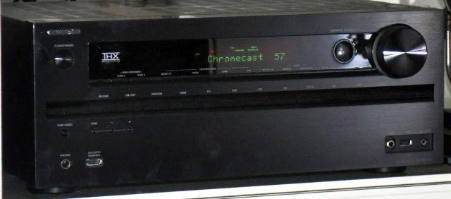 Onkyo 616 med Chromecast