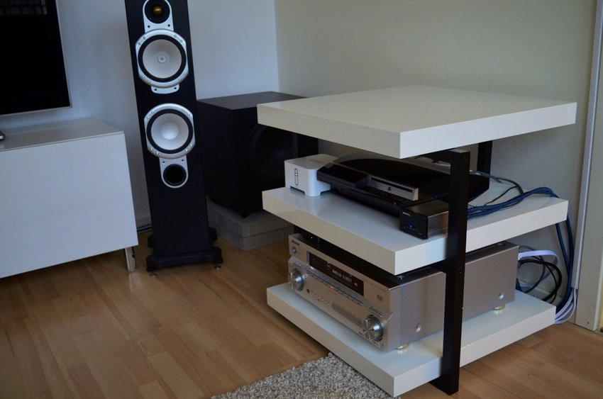 DIY Hi-Fi rack