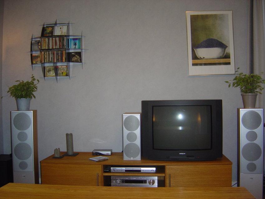 Bild från TV soffan - utan duk nere