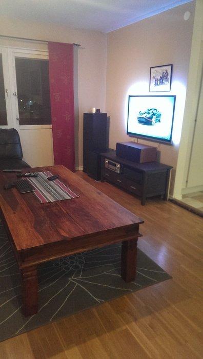 Tv på bilden är min gamla Philips 47 tum
