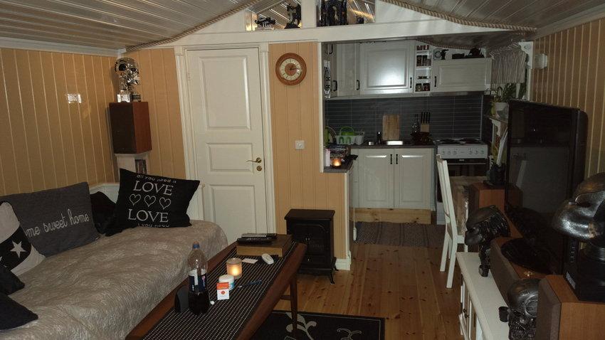 Vardagsrum/ sov och kök