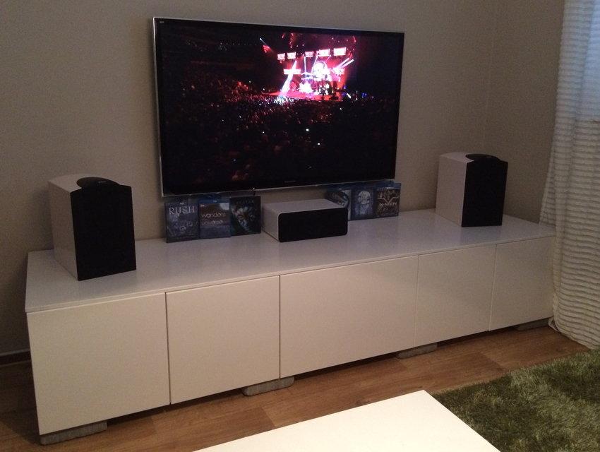 TV, frontar, center