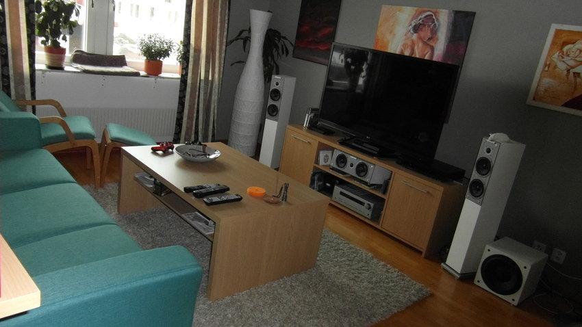 Nya vardagsrummet