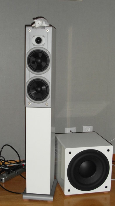 Audiovector Ki3 Signature med BK-Electronics XLS200 MKII FF sub