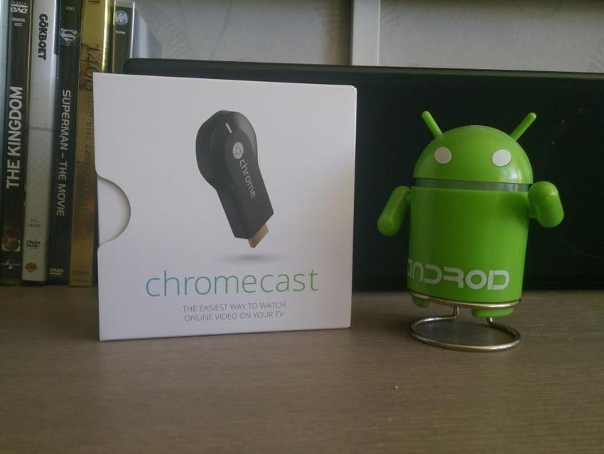 En ChromeCast är bra att ha.