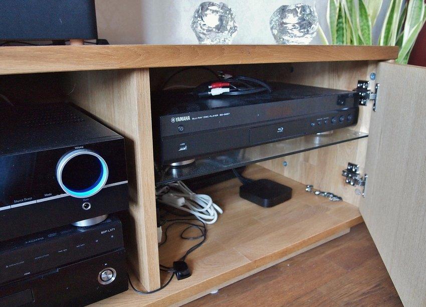 AppleTv och Yamaha Bluray samt lite Nexa styrning