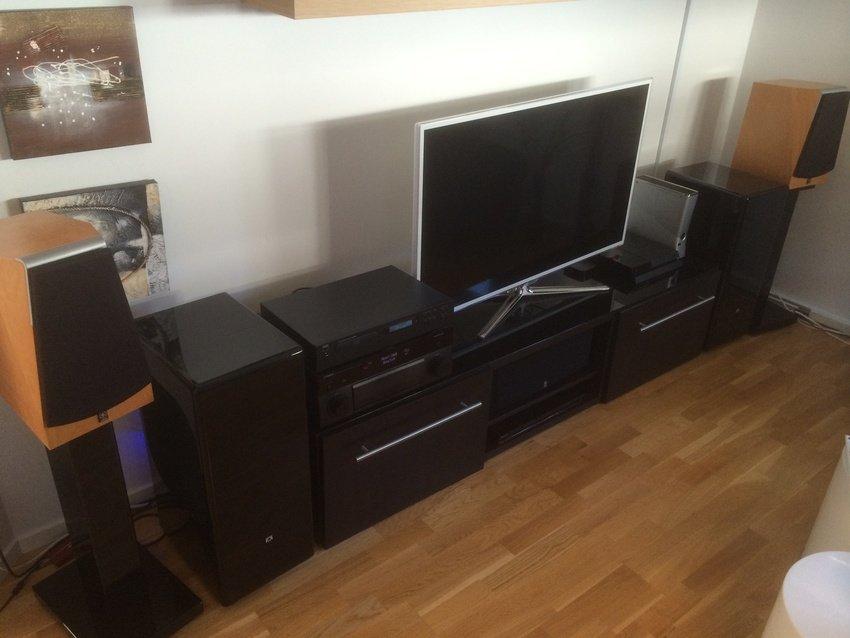 Ny setup. Mycket är sålt och mycket nytt är införskaffat.
