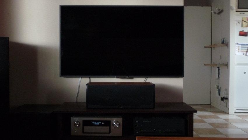 Inte lätt att fota Sony Bravia KDL-55W905A då den är så blank.