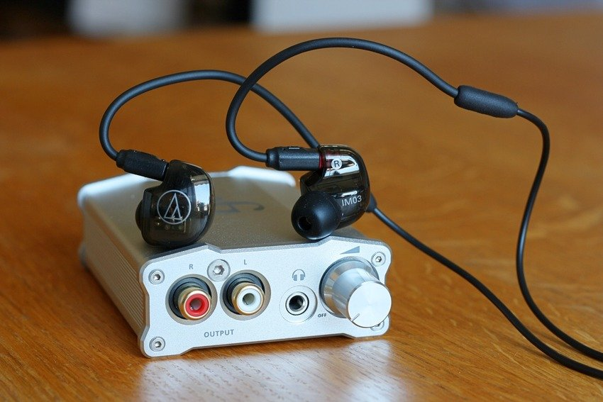 Audio Technica ATH-IM03 + iFi Nano iDSD