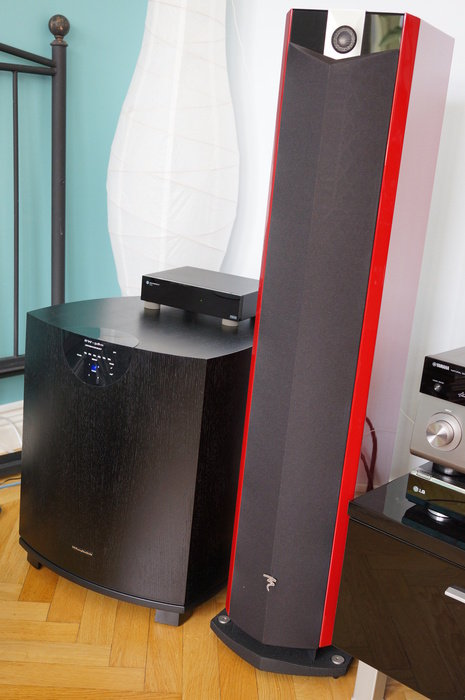 Ny sub! Nya golvare! Nytt ljud! Allt p.g.a. flytt till 4ggr större rum.