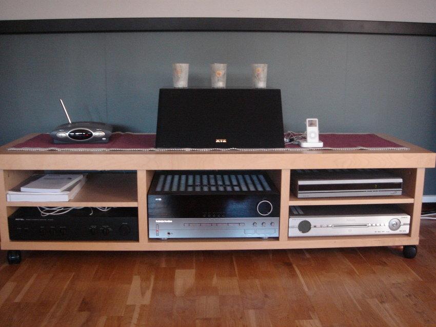 Tv-bänken utan tv....