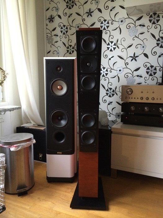 Test av högtalare köpta till en bekant
