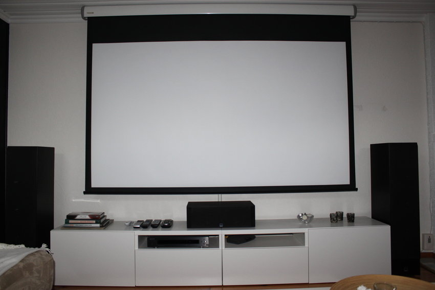 Sweetspot projektor