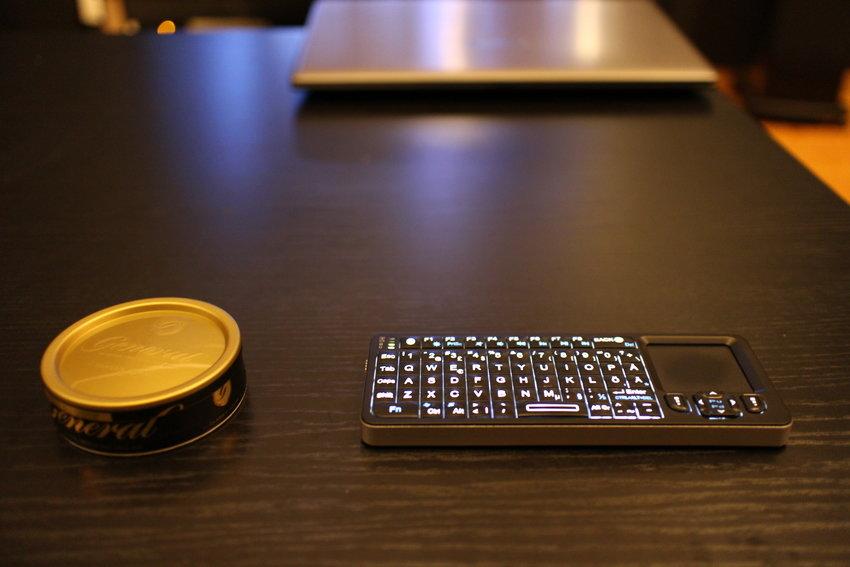 fjärr/tangentbord/mus