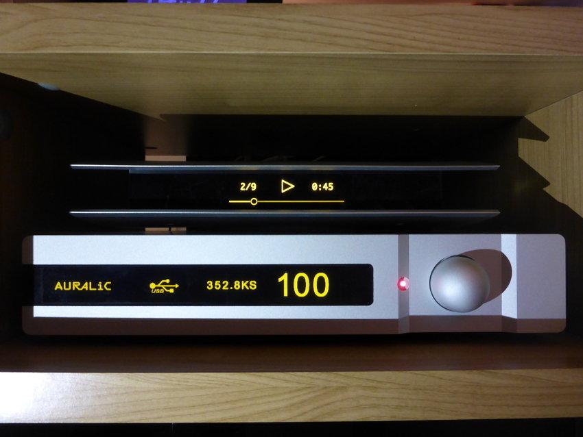 Riktigt högupplöst testas (PCM)/DXD 24 bitar 352,8 kHz