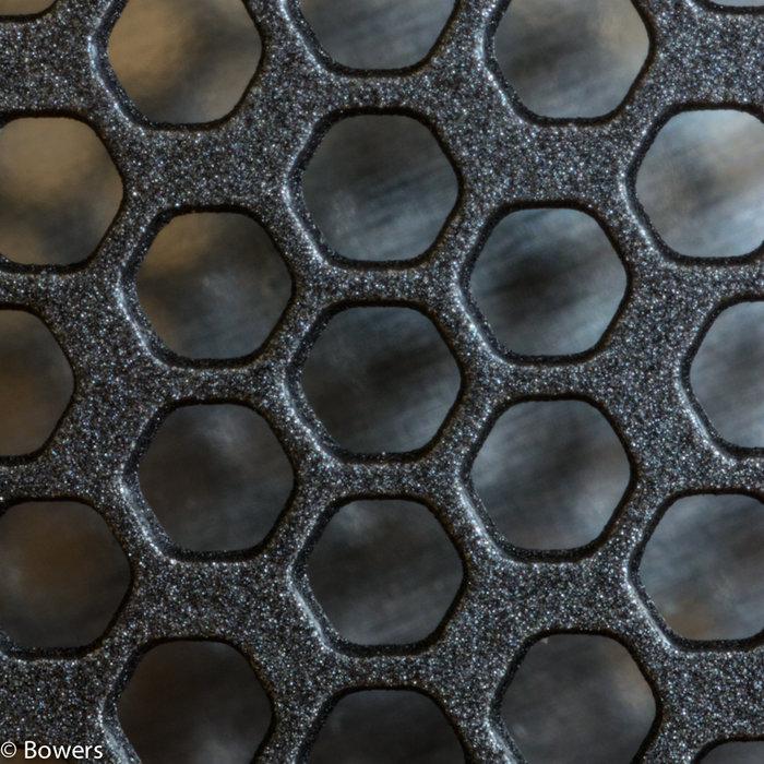 B&W 683S2 diskant galler i närbild