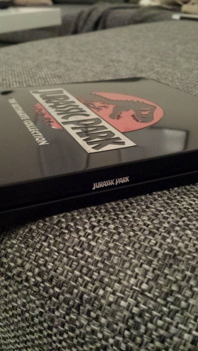 Jurassic Park The Ultimate Collection EzyDVD