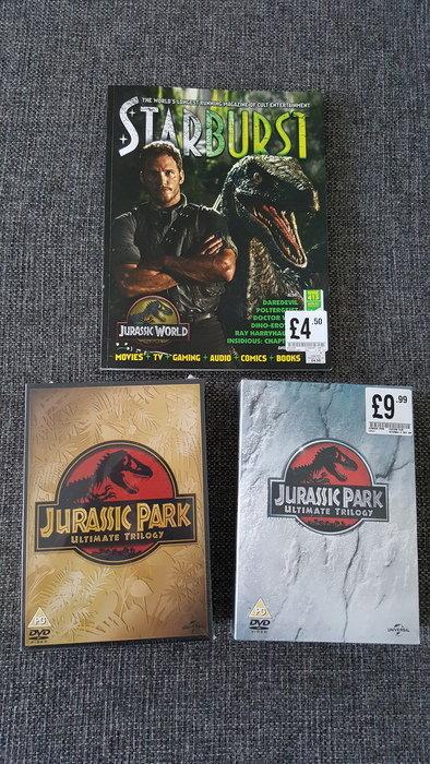 Jurassic Park Ultimate Trilogy UK