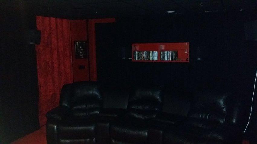 bakre delen av biorummet