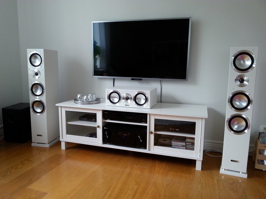 Front setup TV-rum
