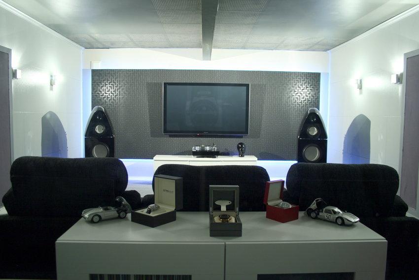 Slik ser HIFI rommet ut nå.