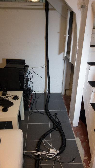 Fått ordning på kablaget