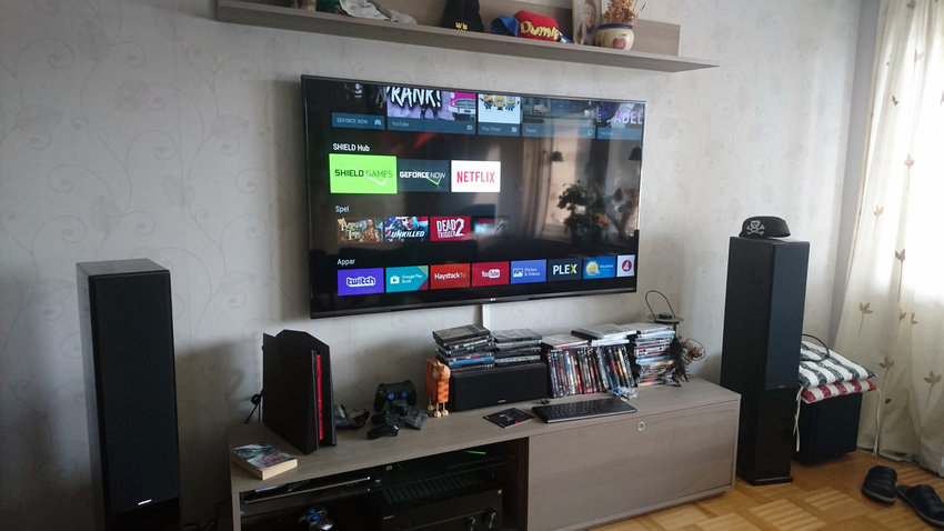 Ny Tv & nvidia shield konsol