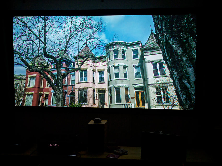 House of Cards 1080p Netflix genom TIVO-dgitalbox, duken avmaskad