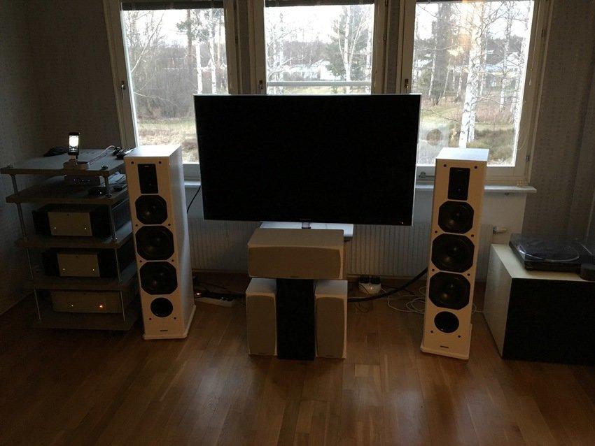 Stereo med Bi-amp