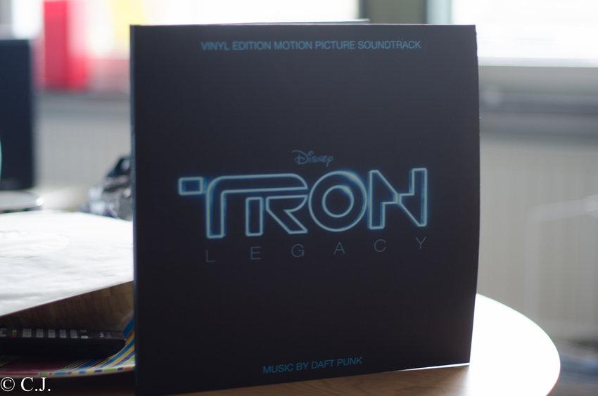 Tron Legacy soundtrack LP2disc, med bonus tracks!