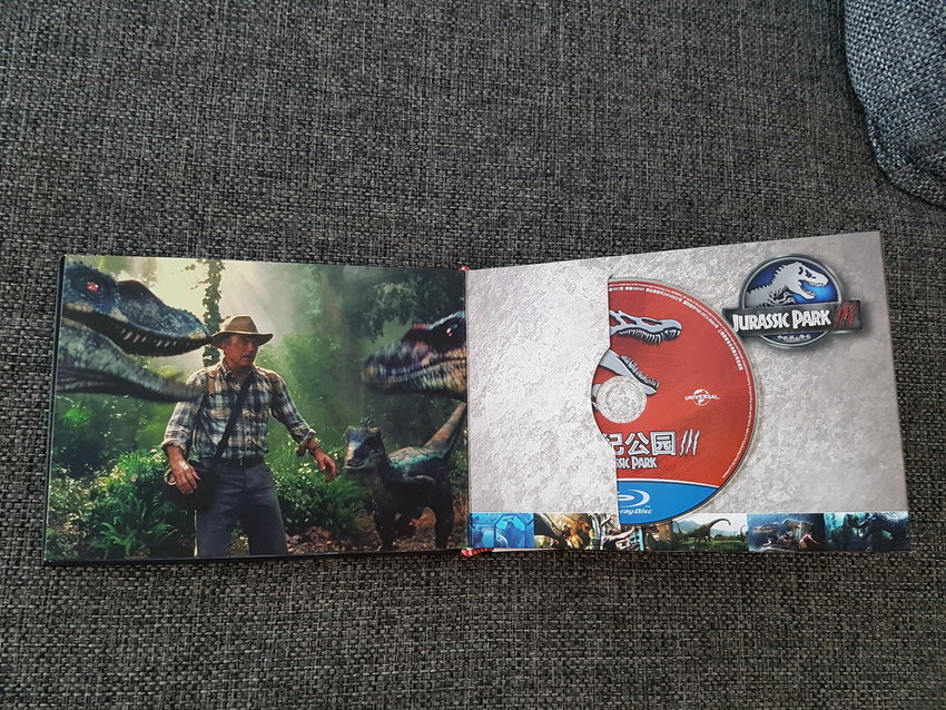 Jurassic Park Ultimate Collection Digibook(Kina)
