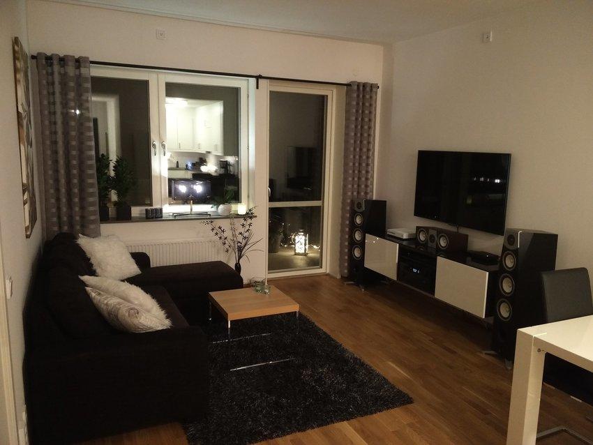 Ny lägenhet på våning 8