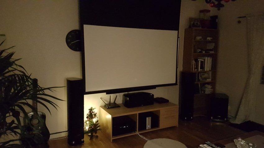 Väldigt nöjd med denna setup! 3D filmer och musik fungerar lika bra =)