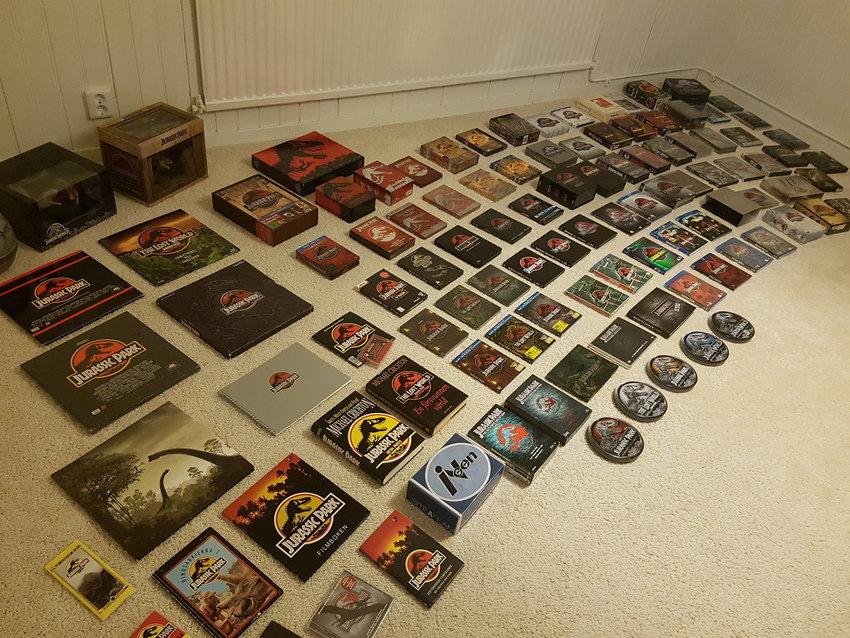 Jurassic Park Ultimate Collection, Hela Jurassic Park-samlingen framme!