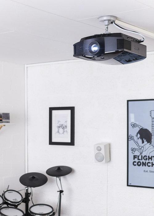 Sony-projektorn och surround back
