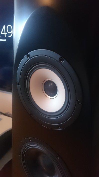 Ett helt otroligt mellanregister/diskant i dessa högtalare.