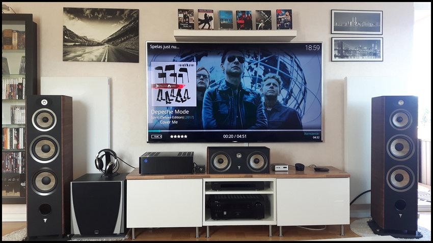 Ny TV (Samsung UE75KS8005)