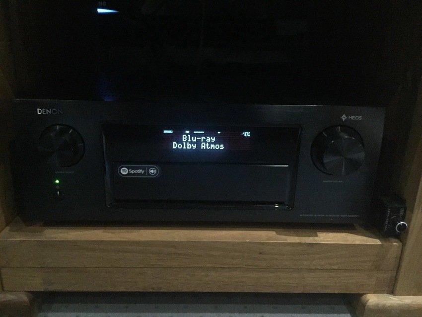 Denon AVR-X6300H receiver
