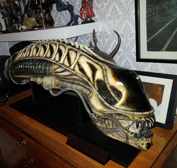 Alien life size warrior head nr 124 av 850