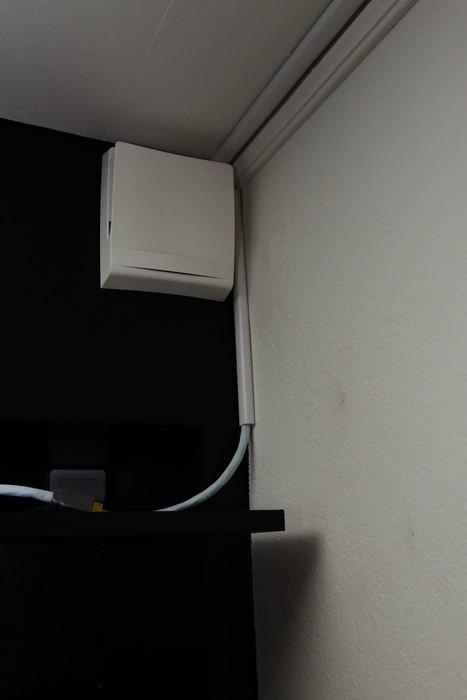 dragit HDMI till projen