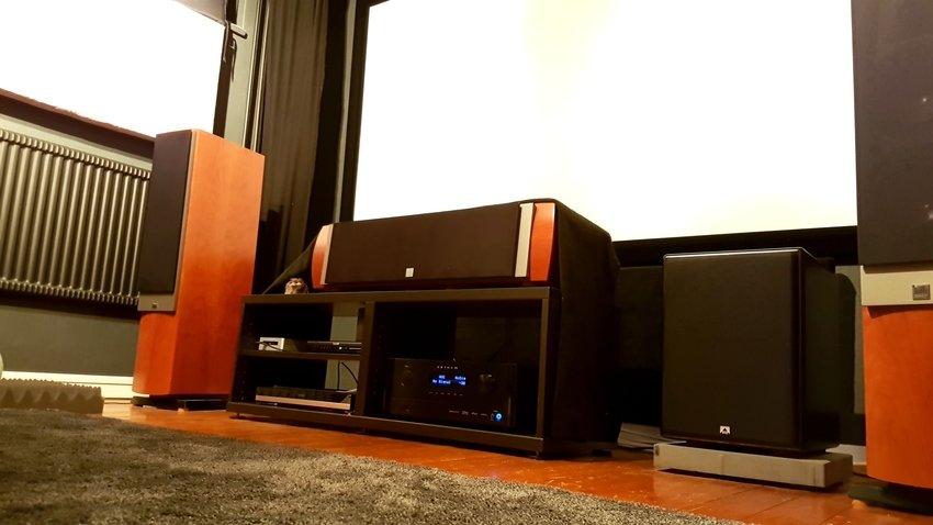 Bjuder på en överexponerad bild på den nya setup:en